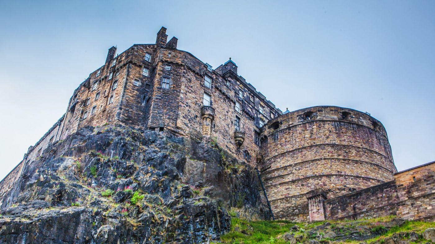 苏格兰爱丁堡城堡(Edinburgh Castle),城市的象征_图1-26