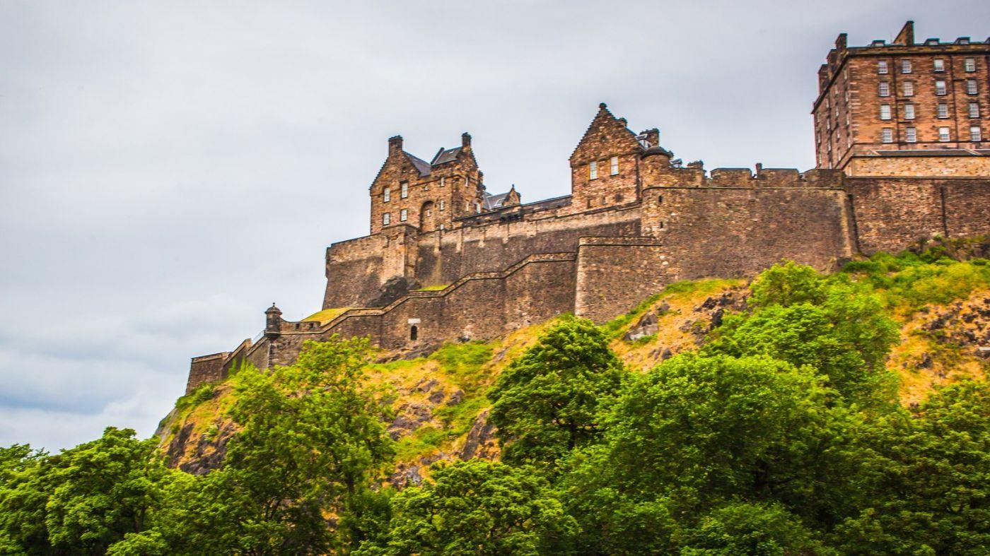 苏格兰爱丁堡城堡(Edinburgh Castle),城市的象征_图1-27