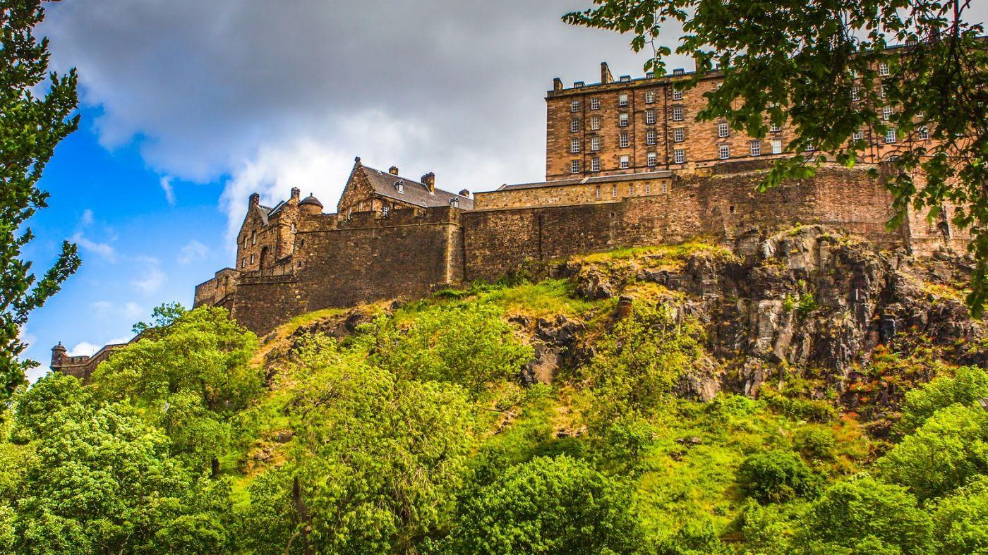 苏格兰爱丁堡城堡(Edinburgh Castle),城市的象征_图1-28