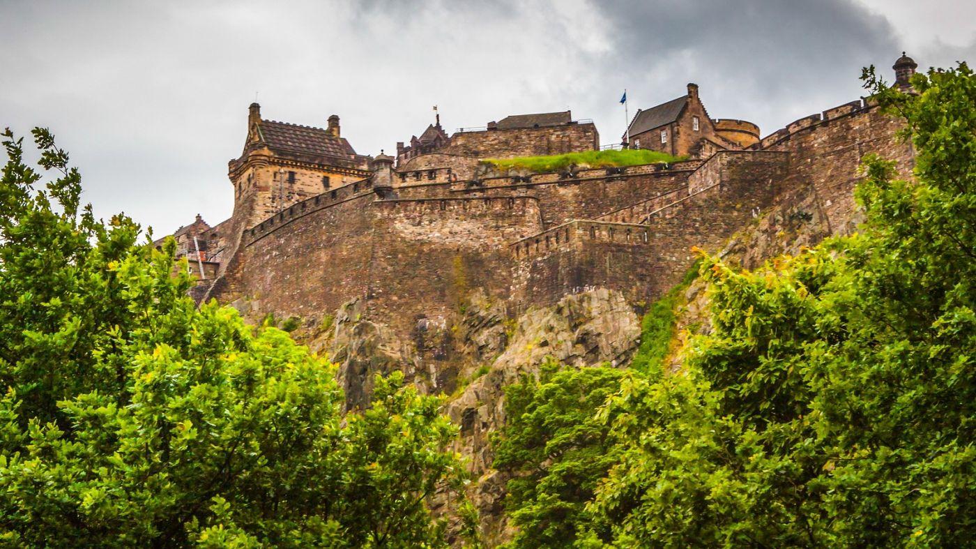 苏格兰爱丁堡城堡(Edinburgh Castle),城市的象征_图1-24