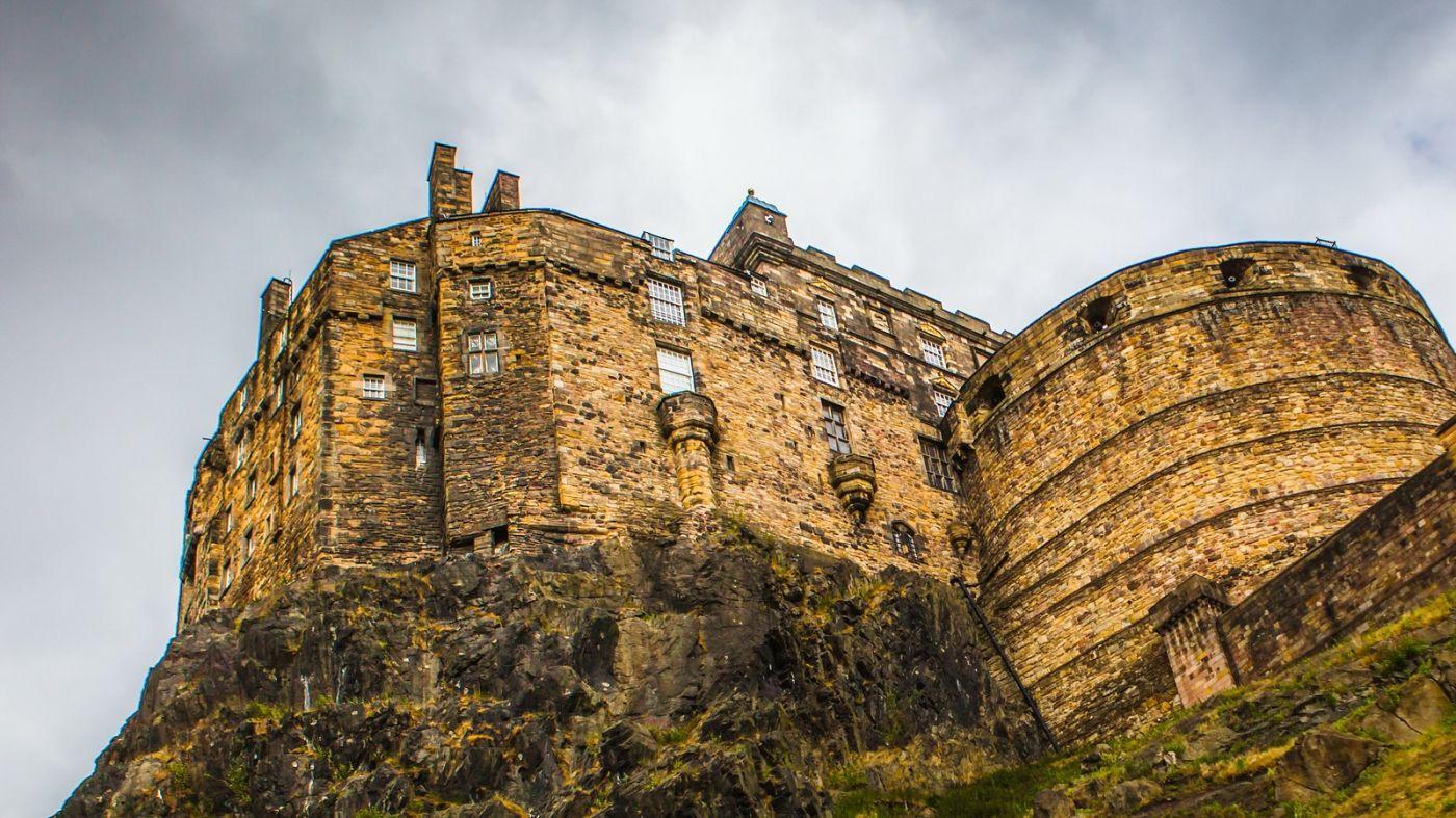 苏格兰爱丁堡城堡(Edinburgh Castle),城市的象征_图1-23