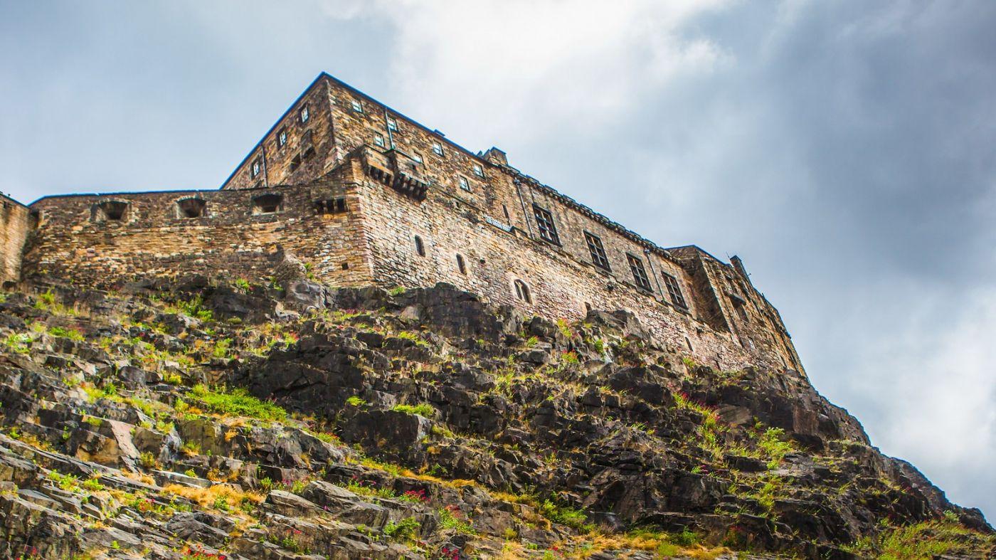苏格兰爱丁堡城堡(Edinburgh Castle),城市的象征_图1-22
