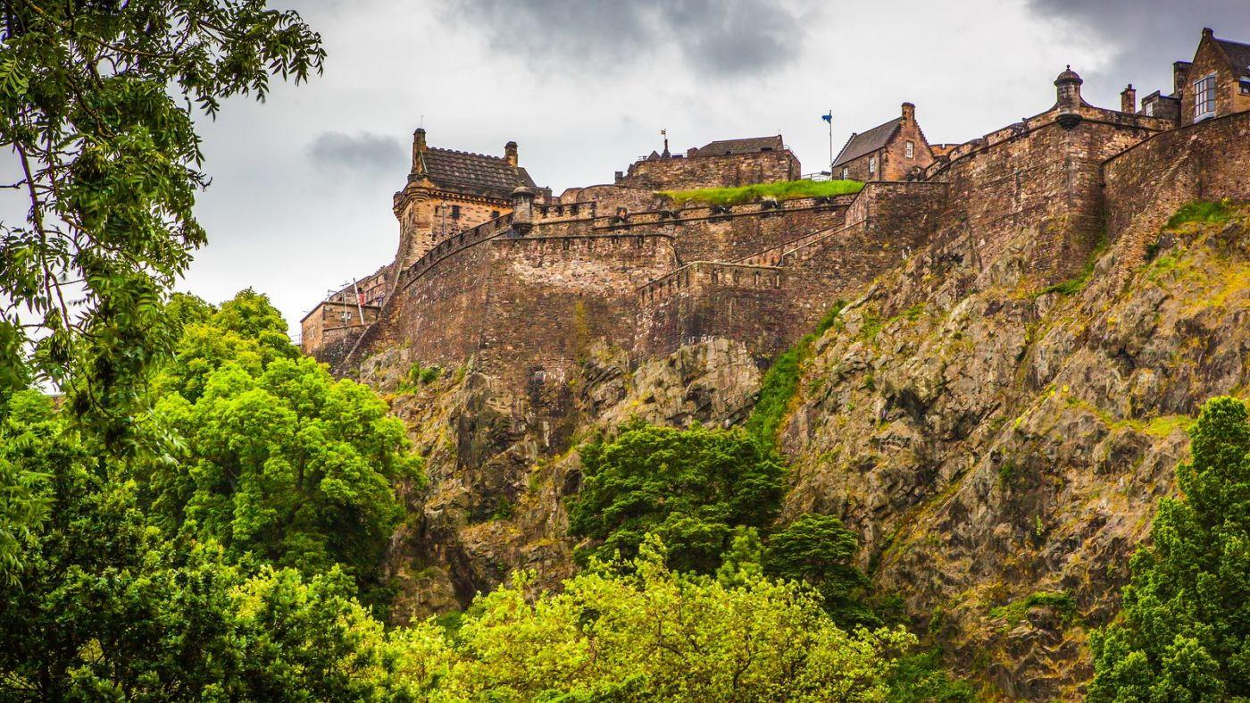 苏格兰爱丁堡城堡(Edinburgh Castle),城市的象征_图1-21