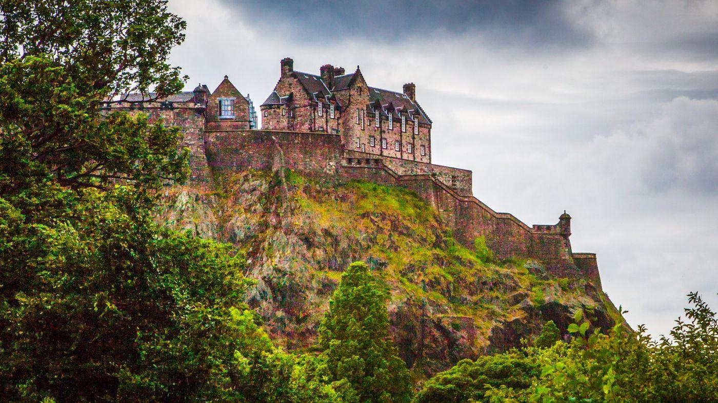 苏格兰爱丁堡城堡(Edinburgh Castle),城市的象征_图1-8