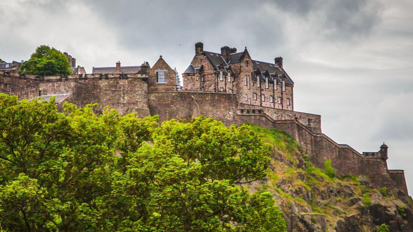 苏格兰爱丁堡城堡(Edinburgh Castle),城市的象征_图1-4