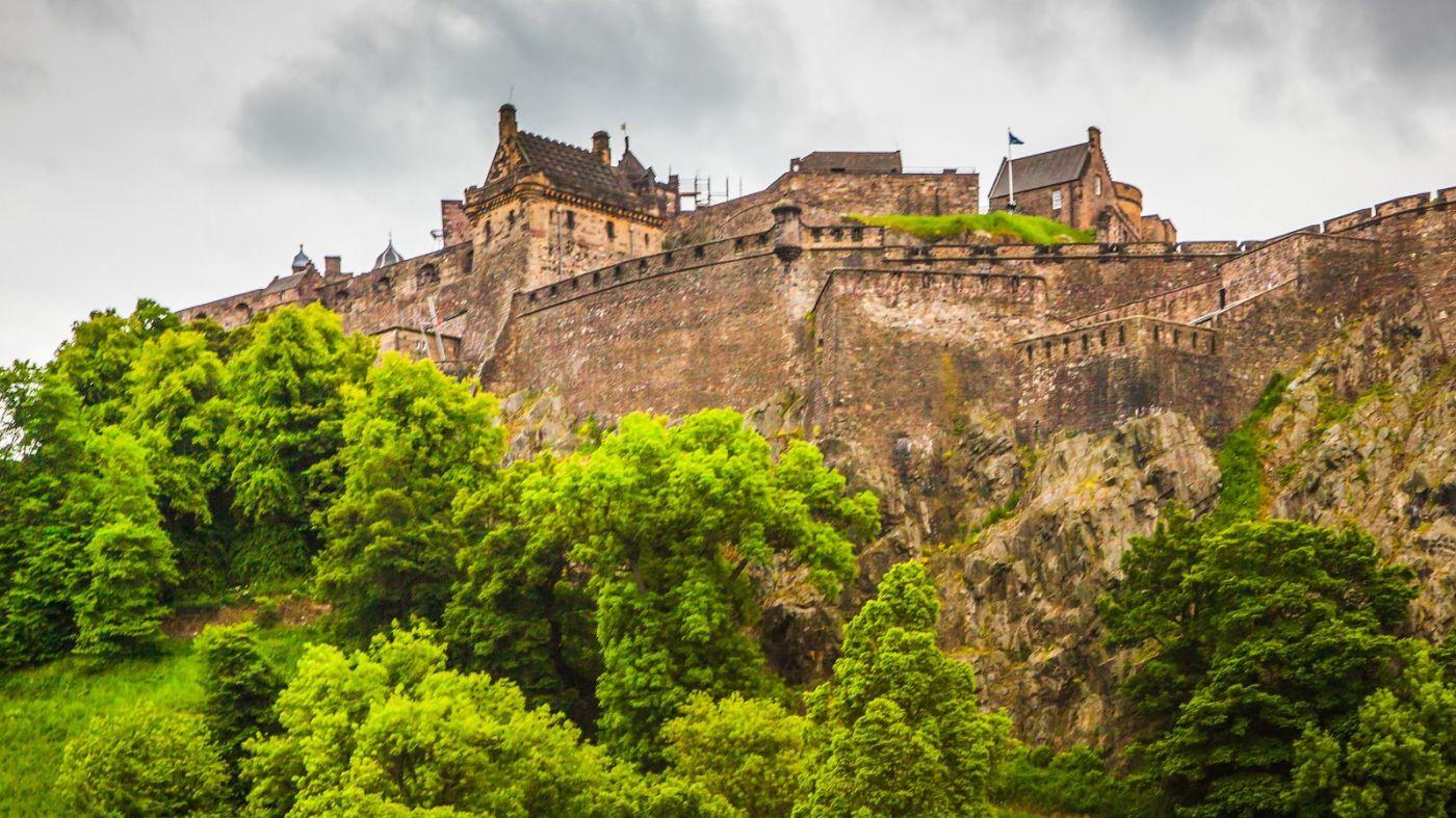 苏格兰爱丁堡城堡(Edinburgh Castle),城市的象征_图1-7