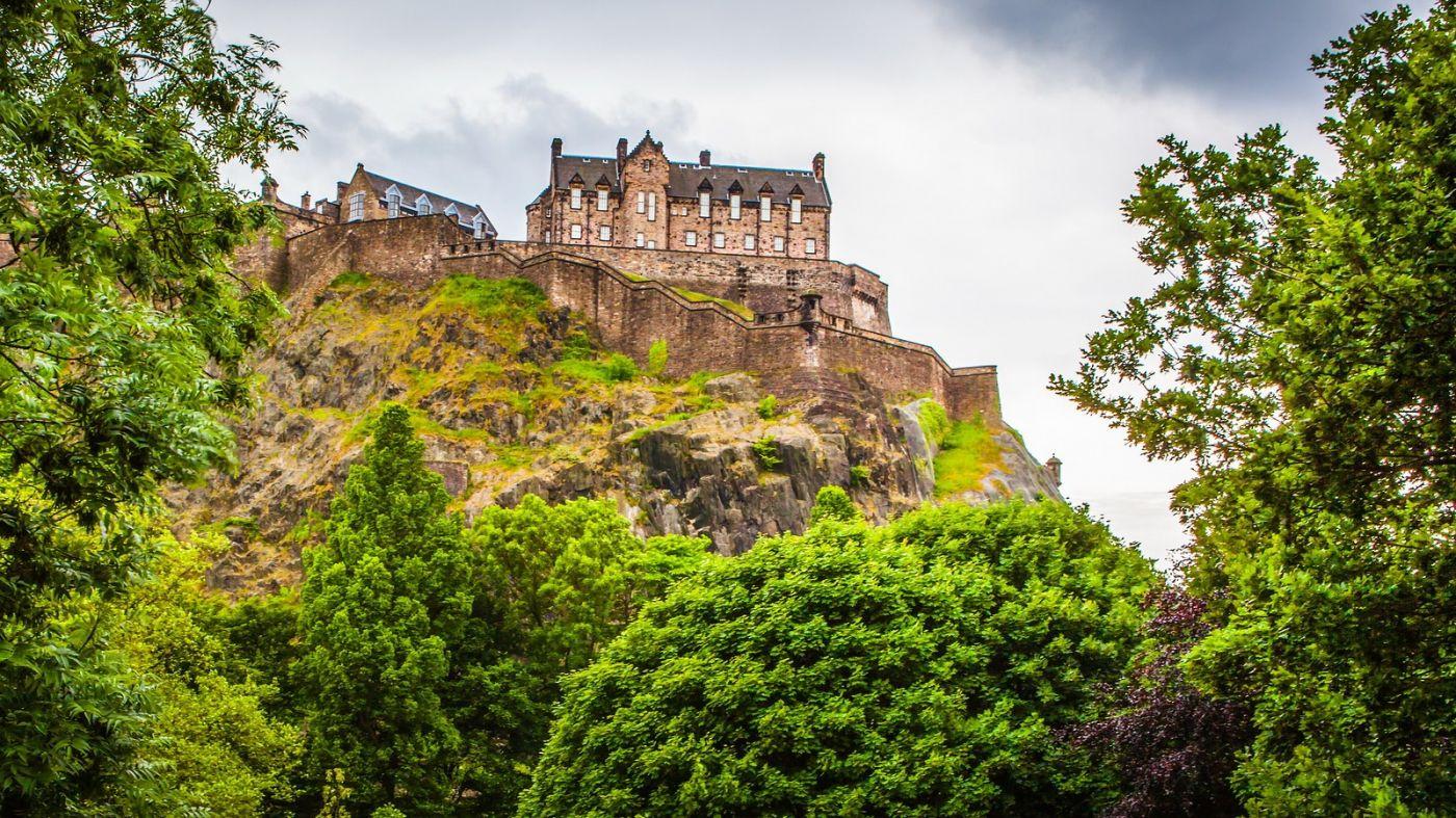 苏格兰爱丁堡城堡(Edinburgh Castle),城市的象征_图1-9