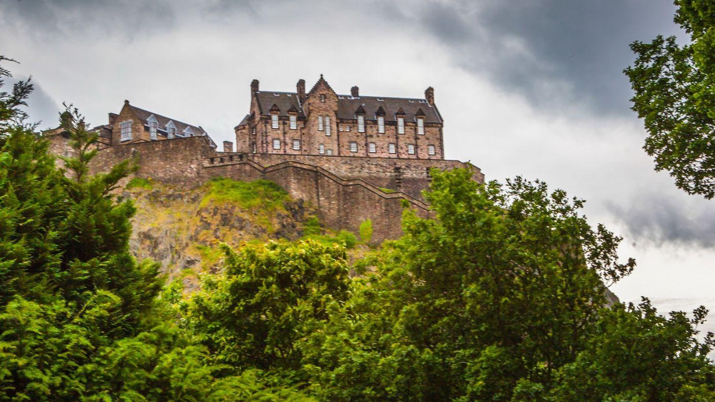 苏格兰爱丁堡城堡(Edinburgh Castle),城市的象征_图1-10
