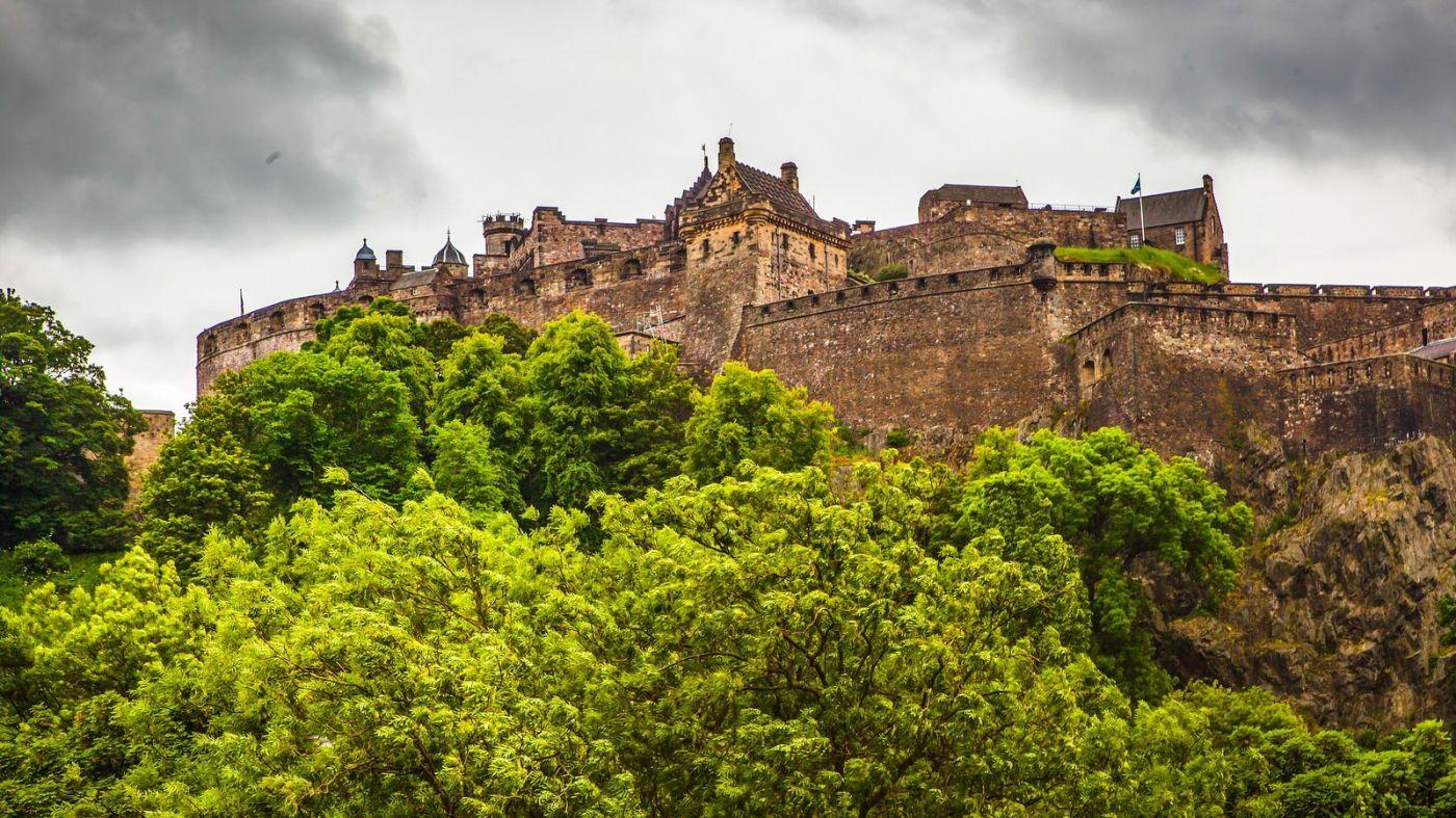 苏格兰爱丁堡城堡(Edinburgh Castle),城市的象征_图1-11