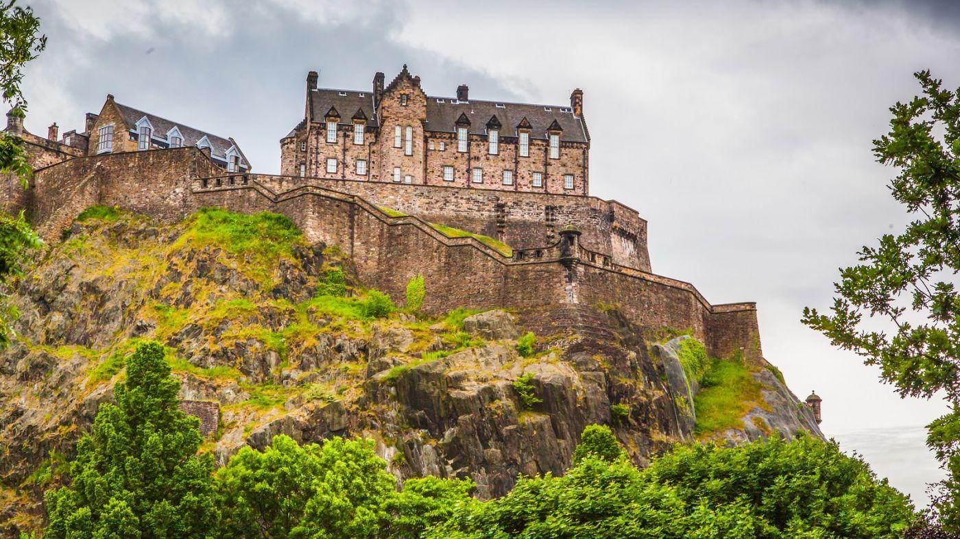 苏格兰爱丁堡城堡(Edinburgh Castle),城市的象征_图1-16