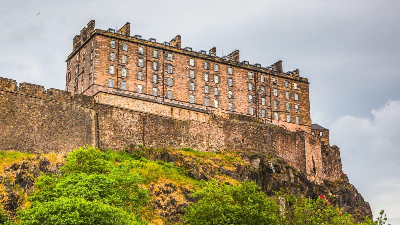 苏格兰爱丁堡城堡(Edinburgh Castle),城市的象征_图1-12