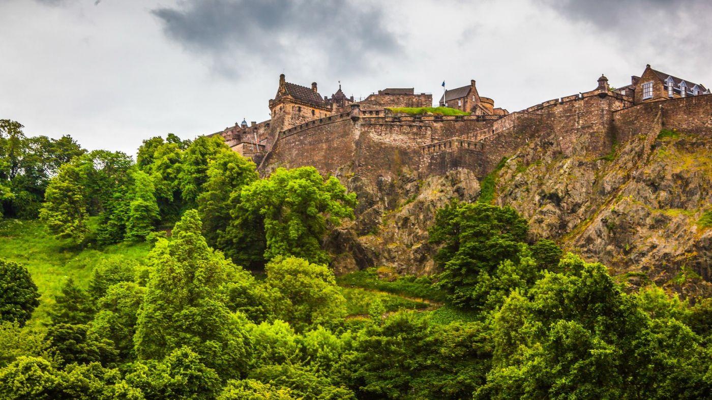 苏格兰爱丁堡城堡(Edinburgh Castle),城市的象征_图1-15