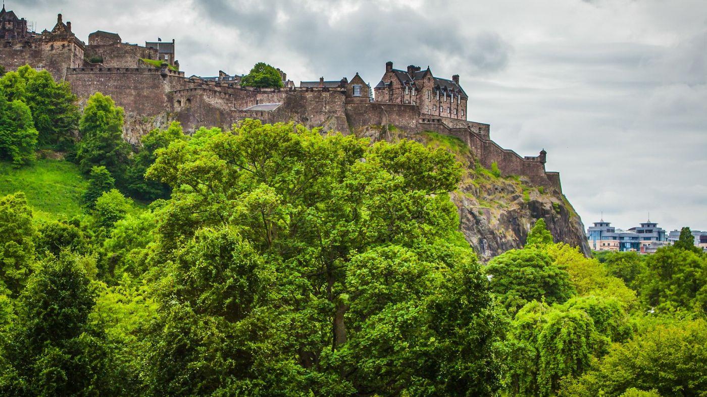 苏格兰爱丁堡城堡(Edinburgh Castle),城市的象征_图1-14