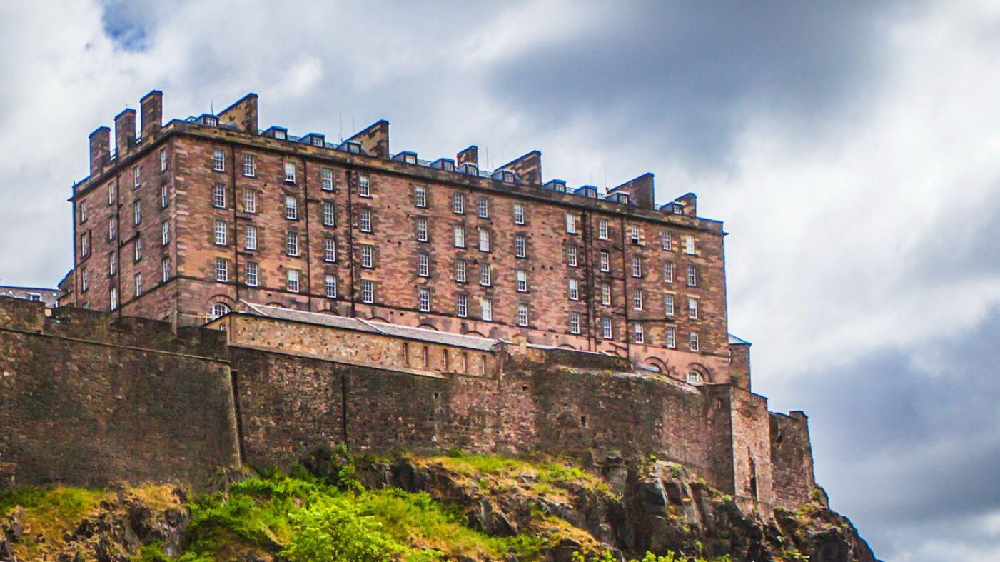 苏格兰爱丁堡城堡(Edinburgh Castle),城市的象征_图1-13