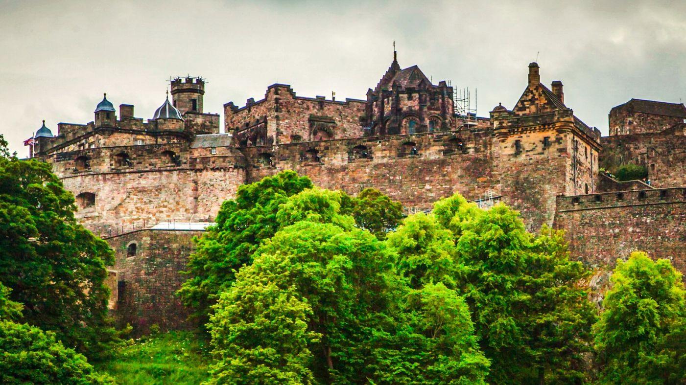 苏格兰爱丁堡城堡(Edinburgh Castle),城市的象征_图1-17