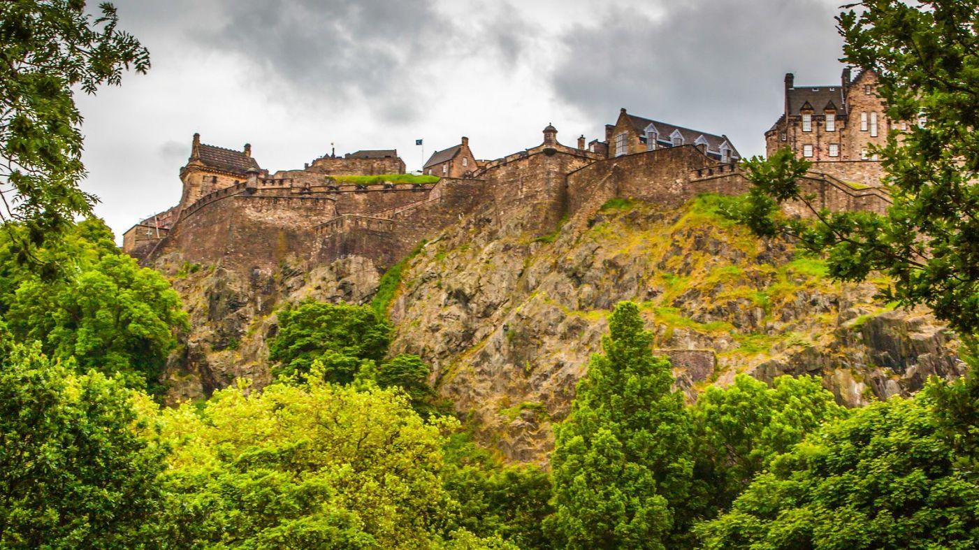 苏格兰爱丁堡城堡(Edinburgh Castle),城市的象征_图1-18