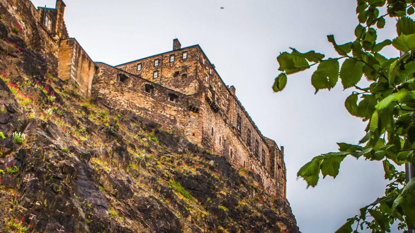 苏格兰爱丁堡城堡(Edinburgh Castle),城市的象征_图1-19
