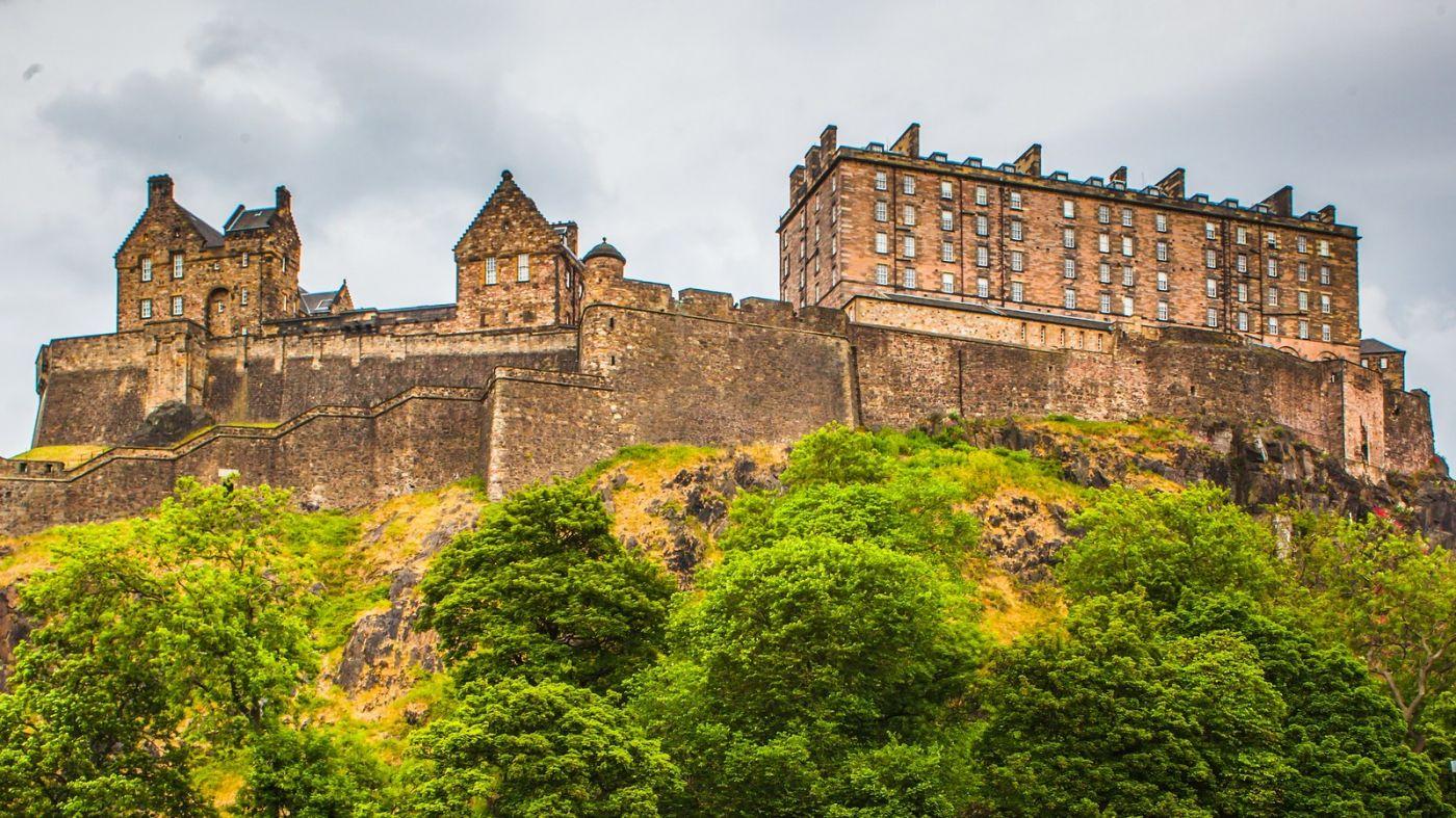 苏格兰爱丁堡城堡(Edinburgh Castle),城市的象征_图1-20