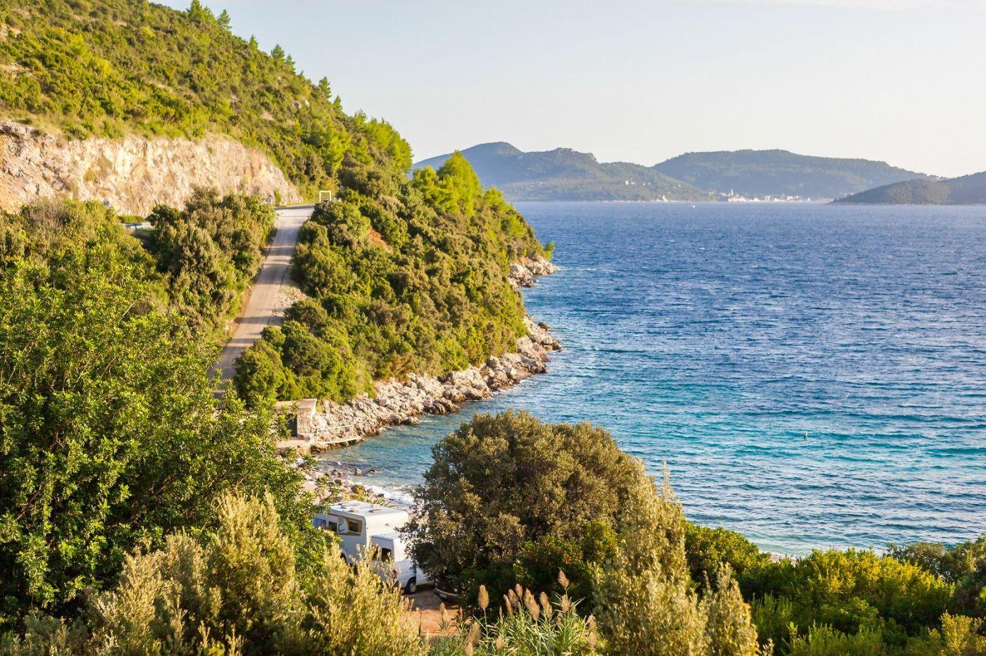 克罗地亚旅途,海岸线景色_图1-40