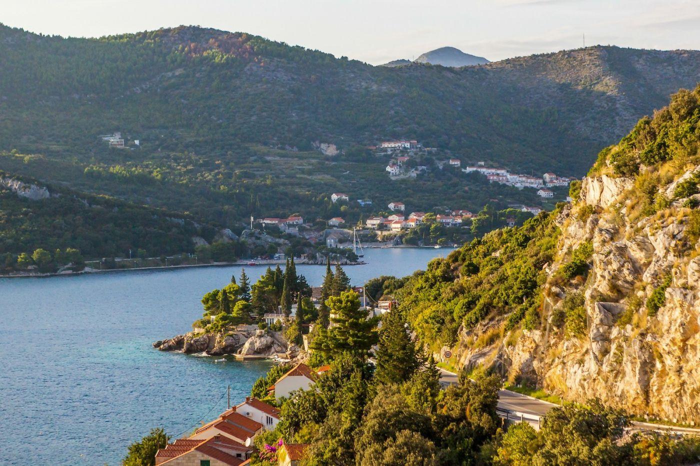 克罗地亚旅途,海岸线景色_图1-37