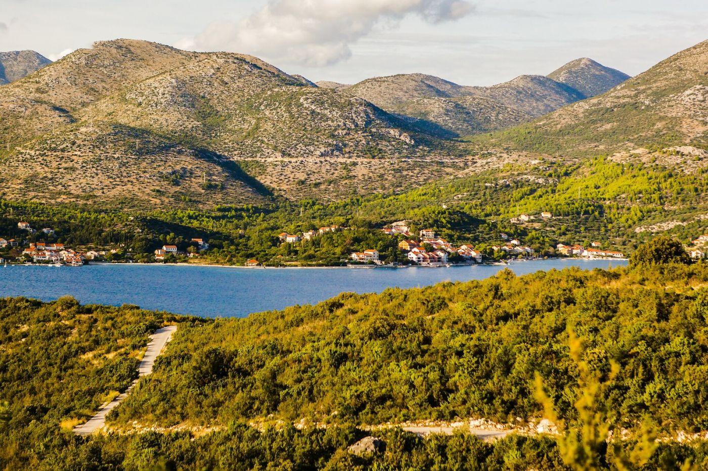 克罗地亚旅途,海岸线景色_图1-34