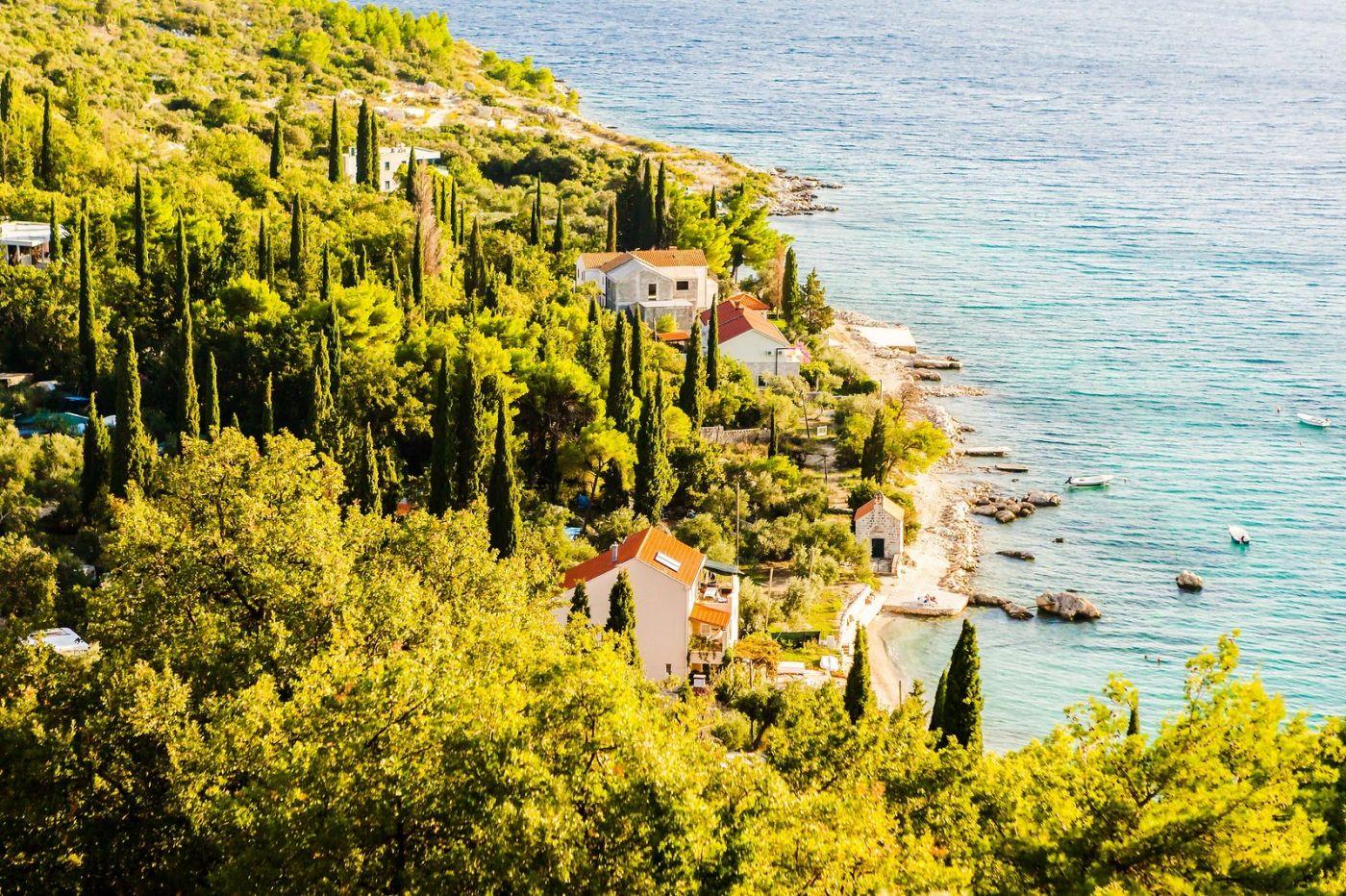 克罗地亚旅途,海岸线景色_图1-7