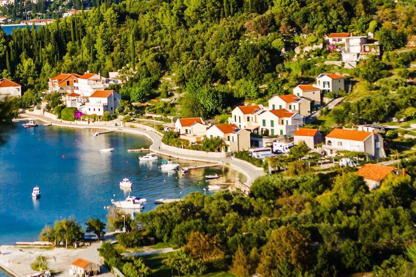 克罗地亚旅途,海岸线景色_图1-8