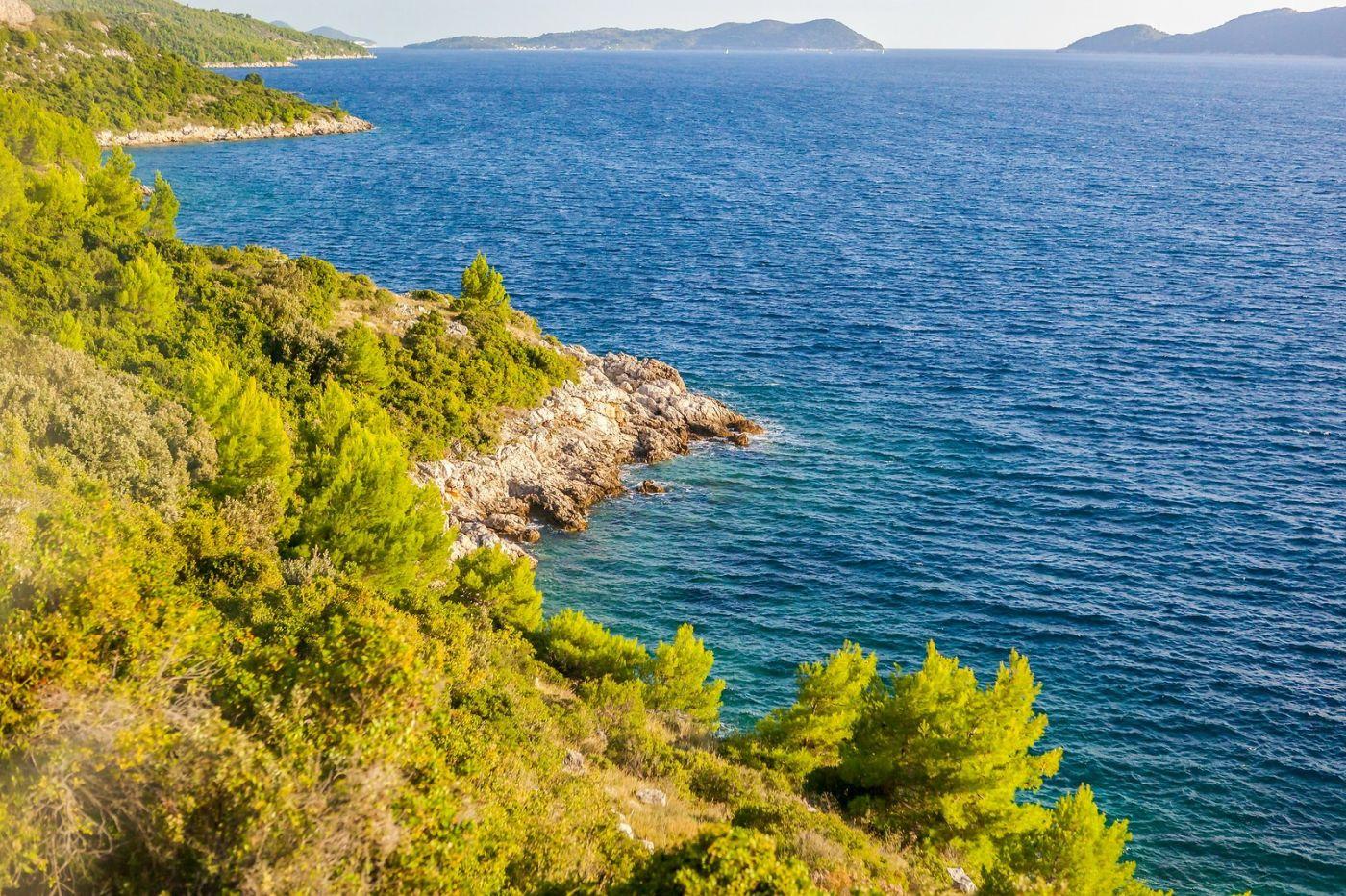 克罗地亚旅途,海岸线景色_图1-13