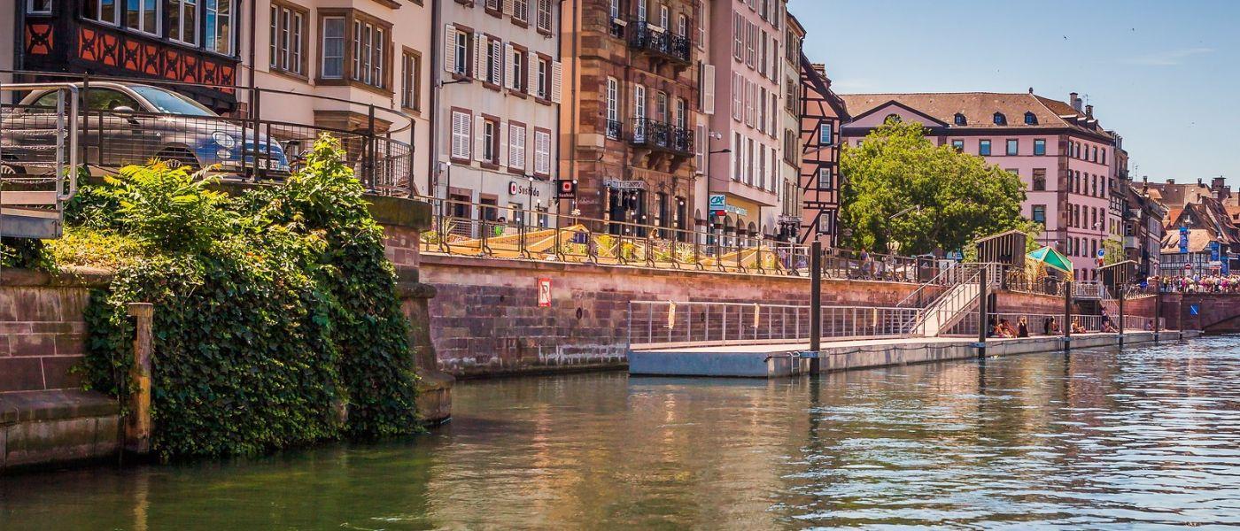 法国斯特拉斯堡(Strasbourg),桥上桥下_图1-5