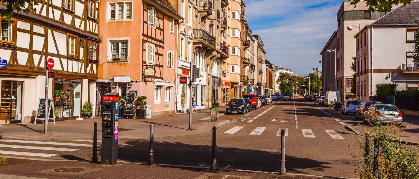 法国斯特拉斯堡(Strasbourg),桥上桥下_图1-8