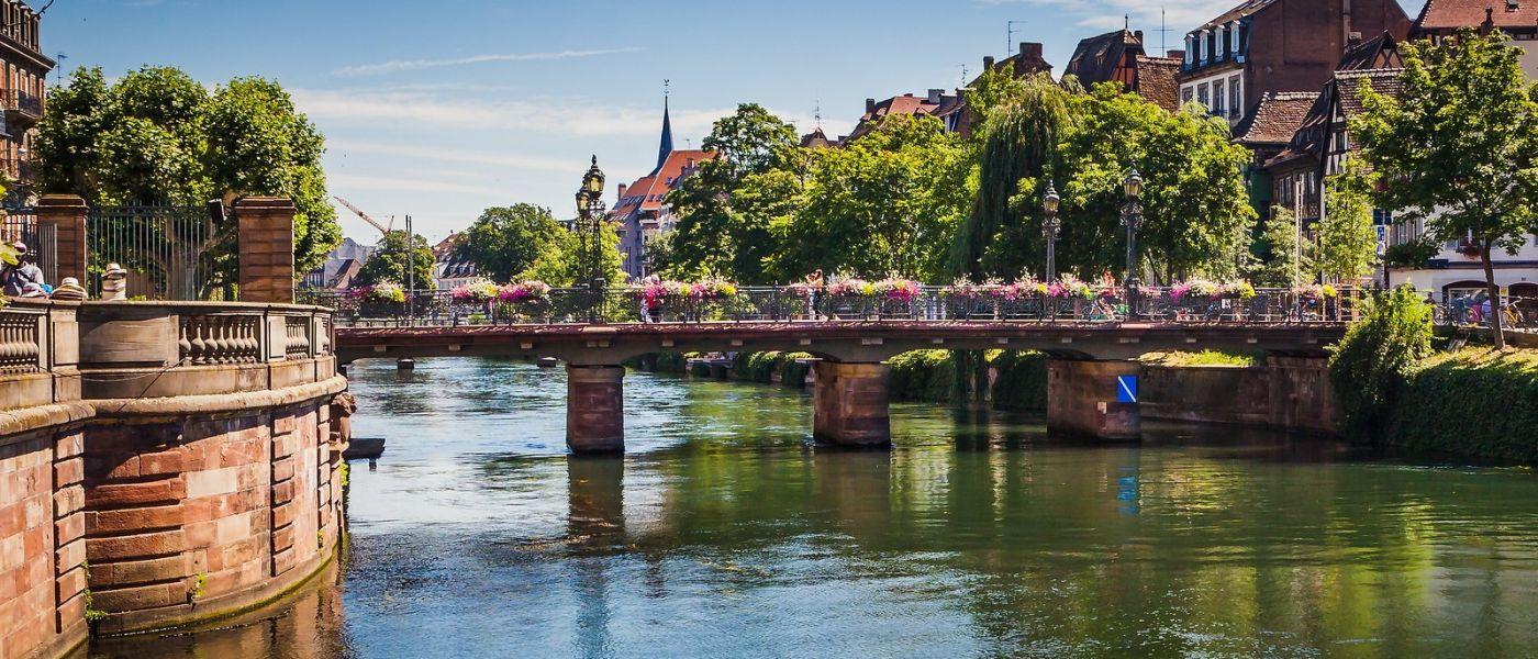 法国斯特拉斯堡(Strasbourg),桥上桥下_图1-7