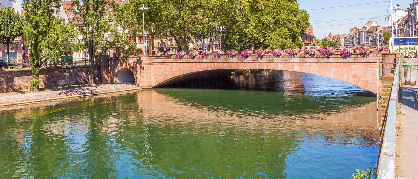 法国斯特拉斯堡(Strasbourg),桥上桥下_图1-9