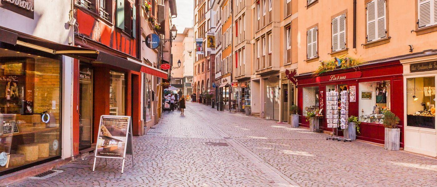 法国斯特拉斯堡(Strasbourg),桥上桥下_图1-6