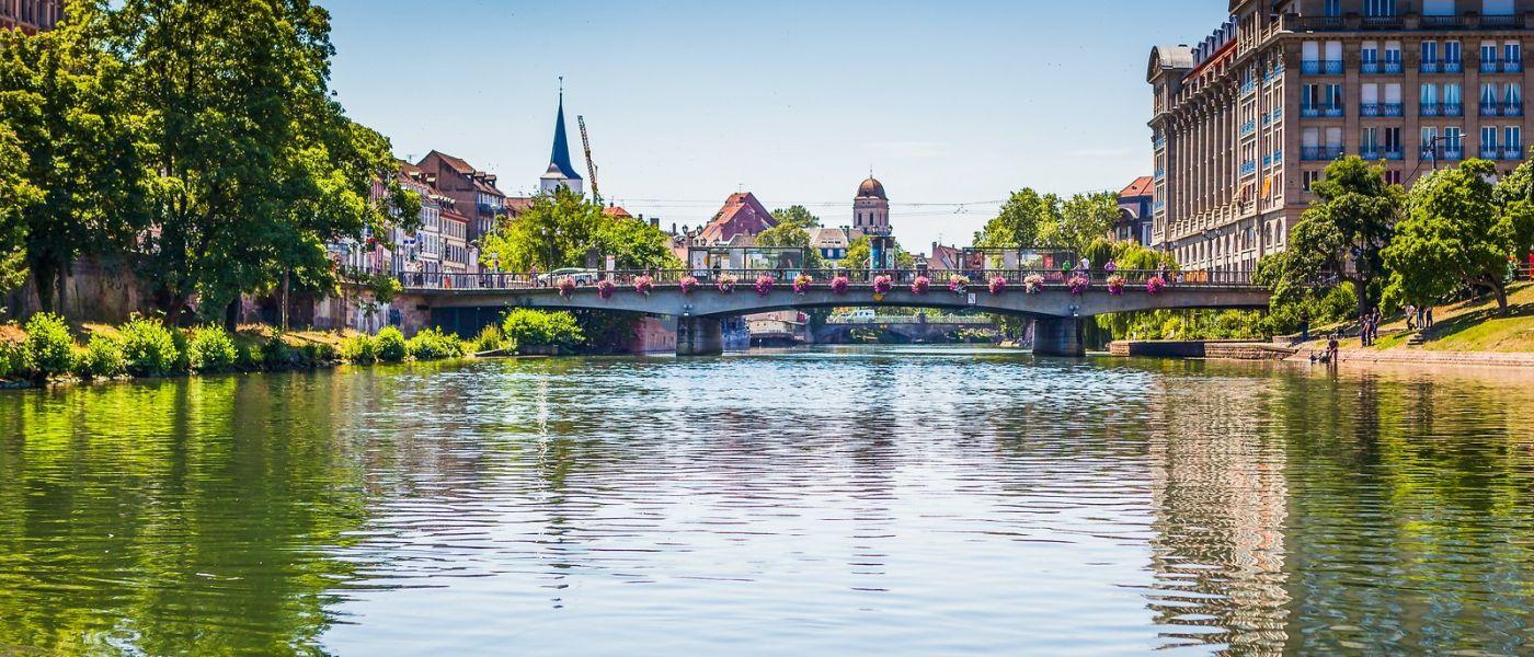 法国斯特拉斯堡(Strasbourg),桥上桥下_图1-10