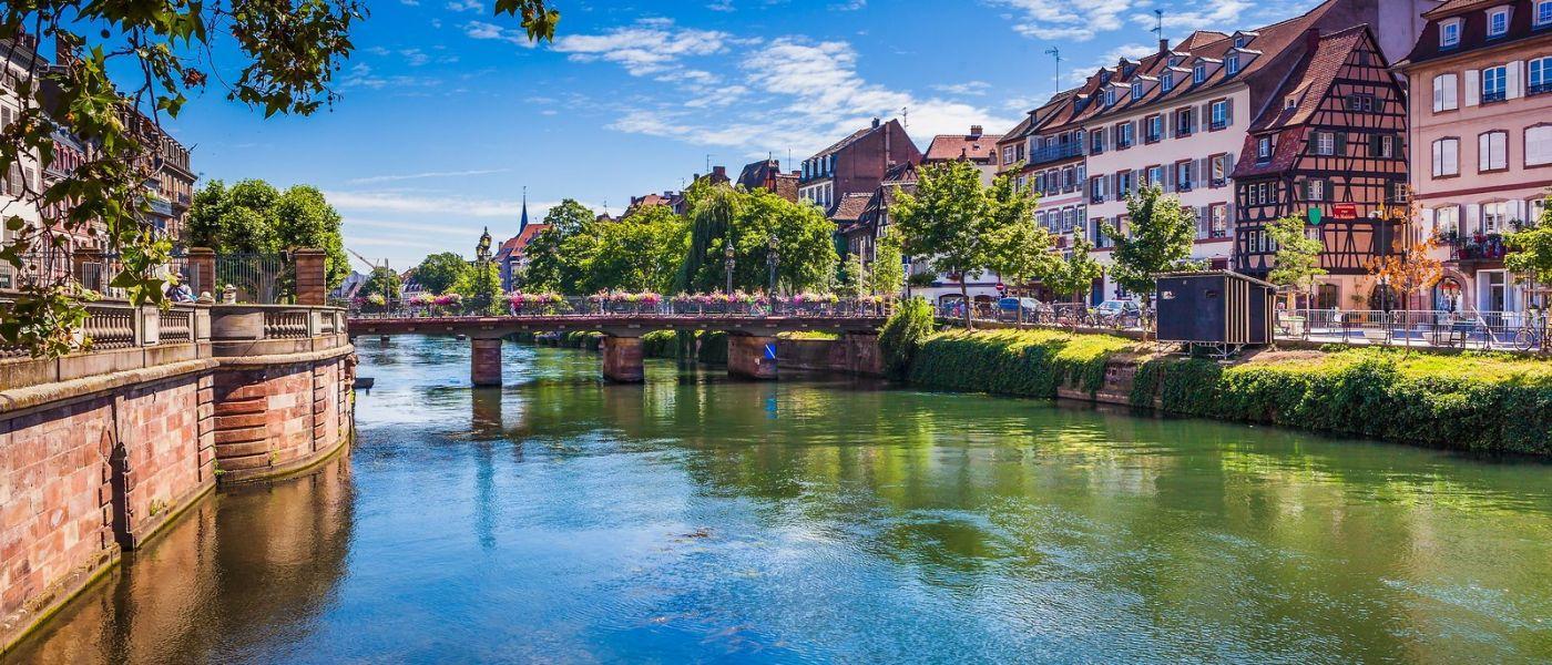法国斯特拉斯堡(Strasbourg),桥上桥下_图1-11
