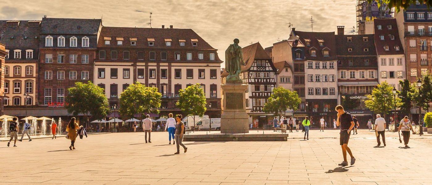 法国斯特拉斯堡(Strasbourg),桥上桥下_图1-13