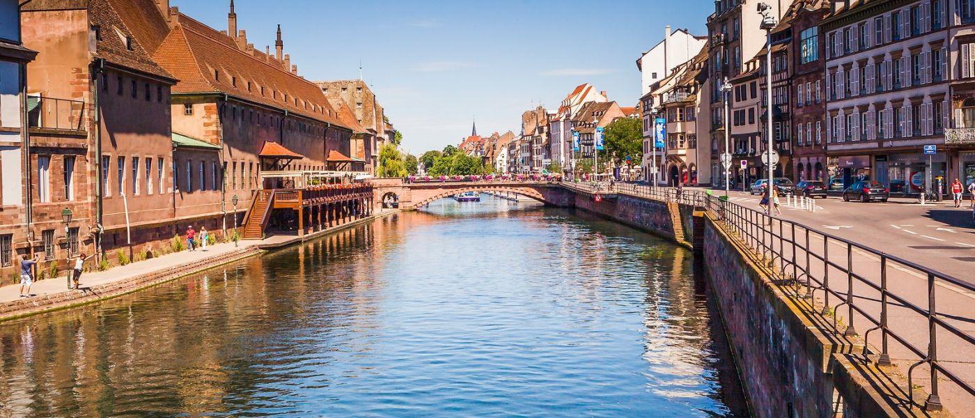法国斯特拉斯堡(Strasbourg),桥上桥下_图1-14