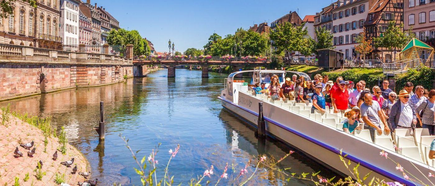 法国斯特拉斯堡(Strasbourg),桥上桥下_图1-15