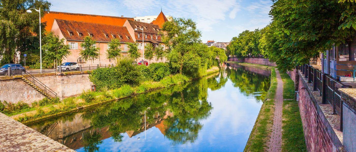 法国斯特拉斯堡(Strasbourg),桥上桥下_图1-16