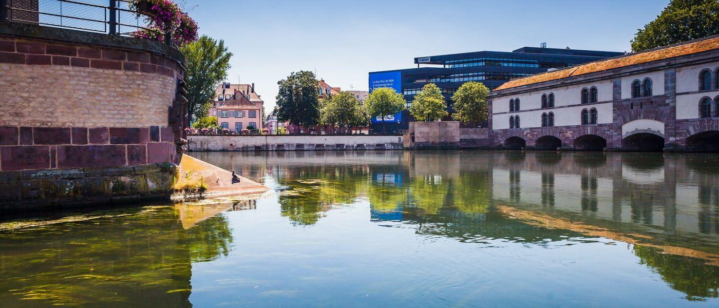 法国斯特拉斯堡(Strasbourg),桥上桥下_图1-18