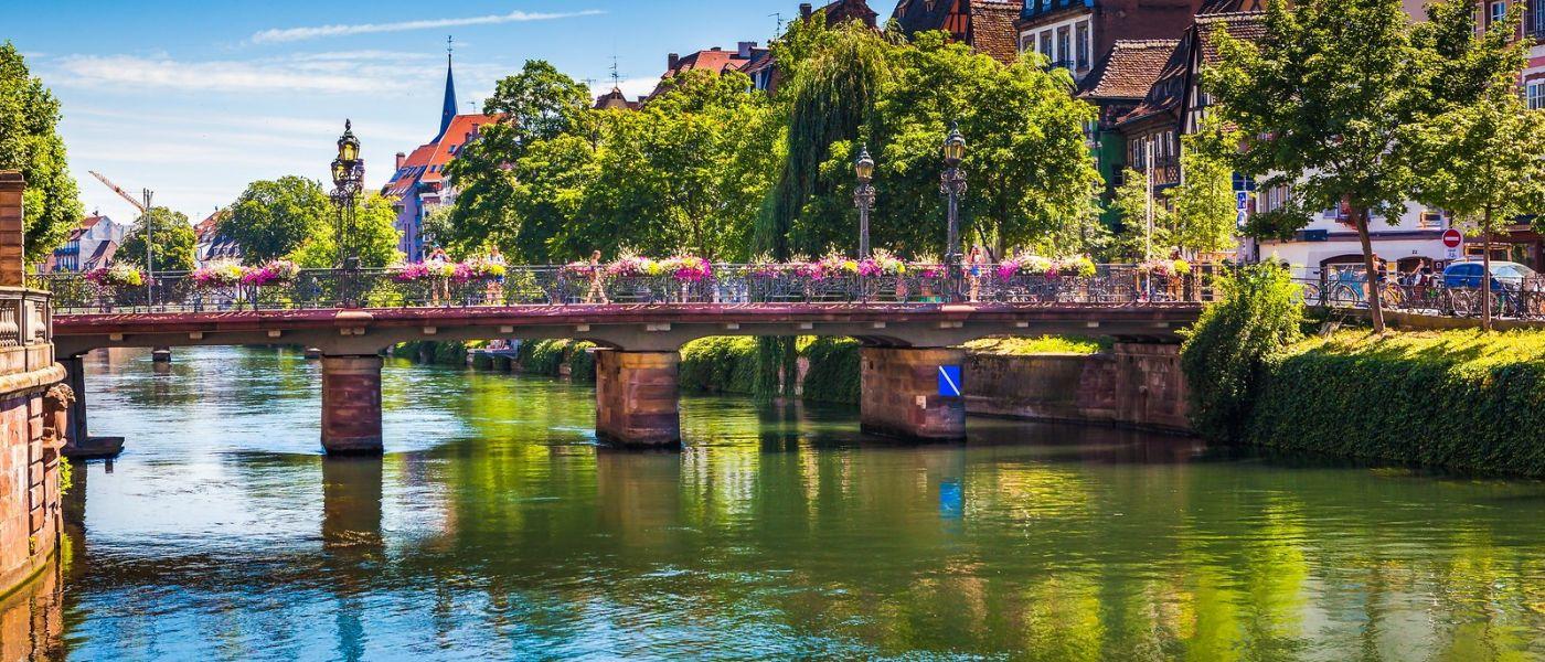 法国斯特拉斯堡(Strasbourg),桥上桥下_图1-19