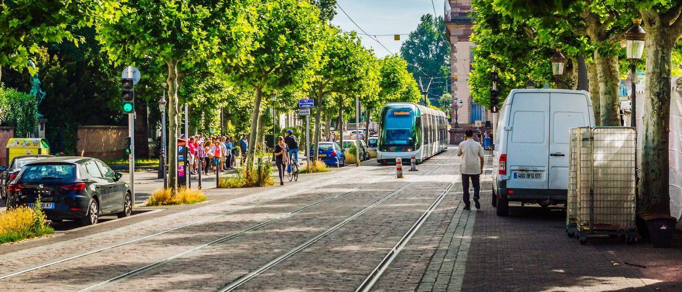 法国斯特拉斯堡(Strasbourg),桥上桥下_图1-20