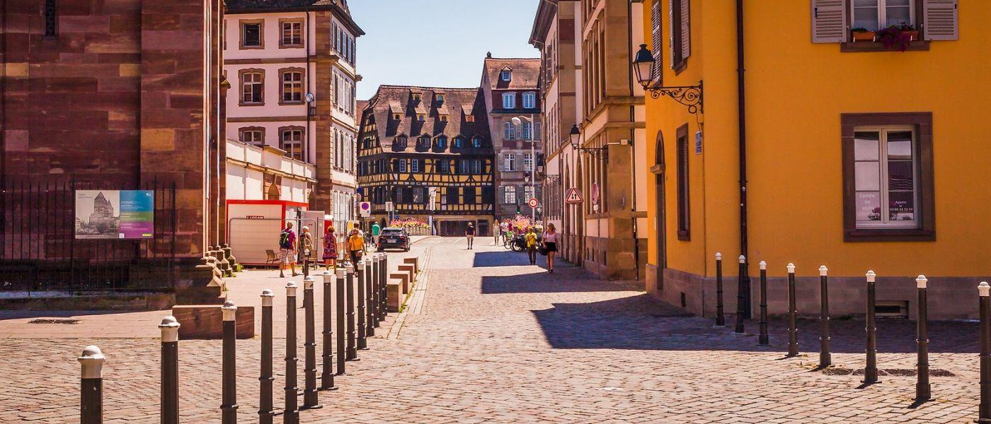 法国斯特拉斯堡(Strasbourg),桥上桥下_图1-24