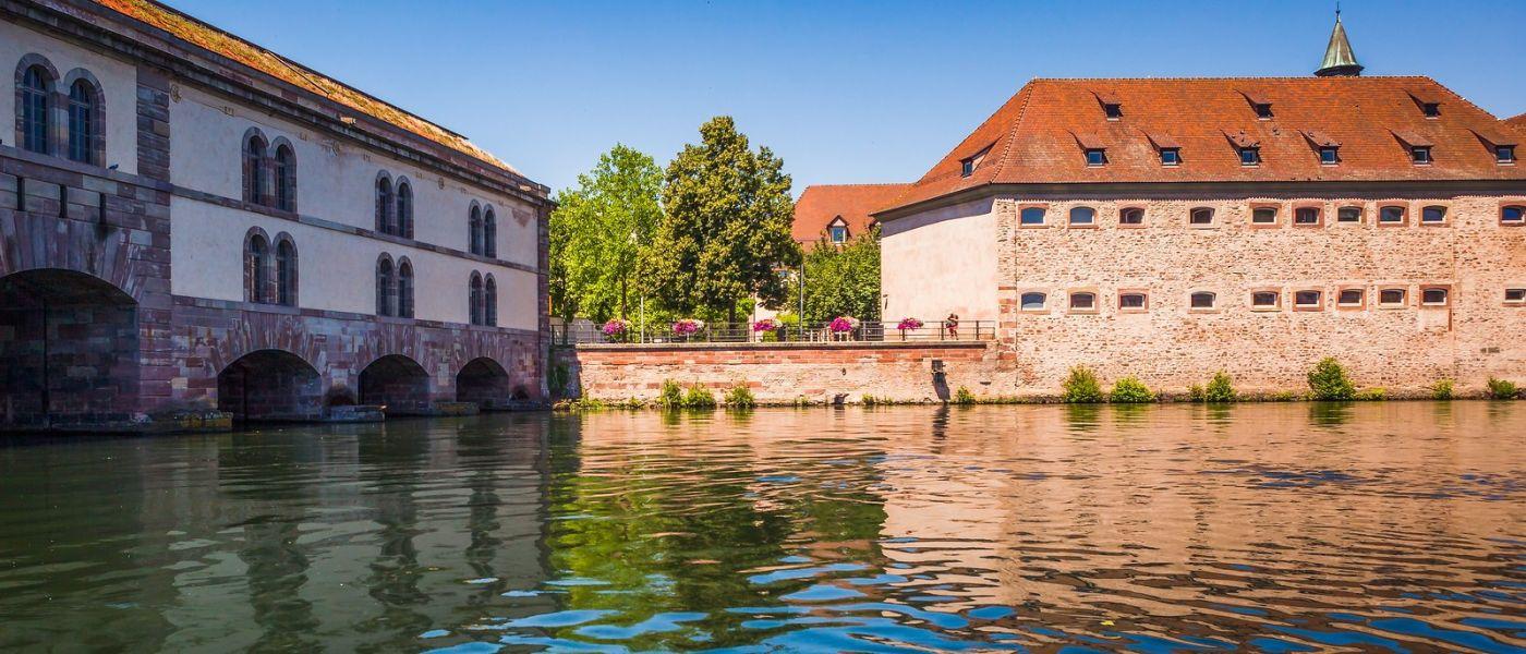 法国斯特拉斯堡(Strasbourg),桥上桥下_图1-23