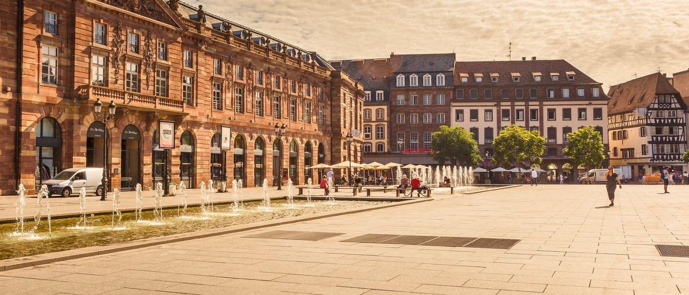 法国斯特拉斯堡(Strasbourg),桥上桥下_图1-22