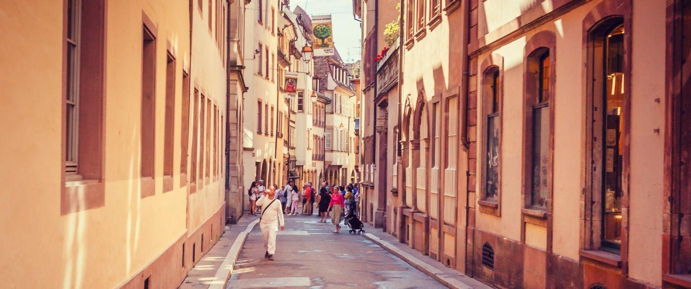 法国斯特拉斯堡(Strasbourg),桥上桥下_图1-21
