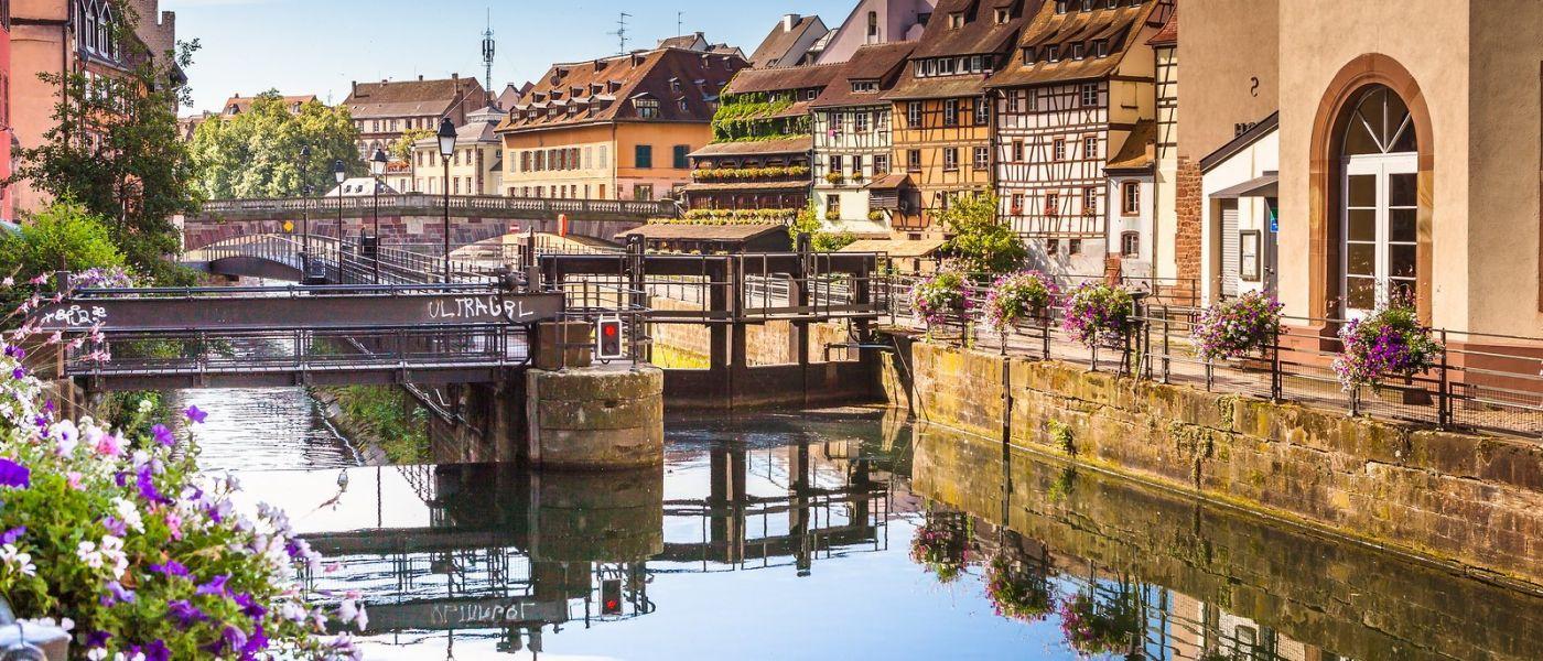 法国斯特拉斯堡(Strasbourg),桥上桥下_图1-25