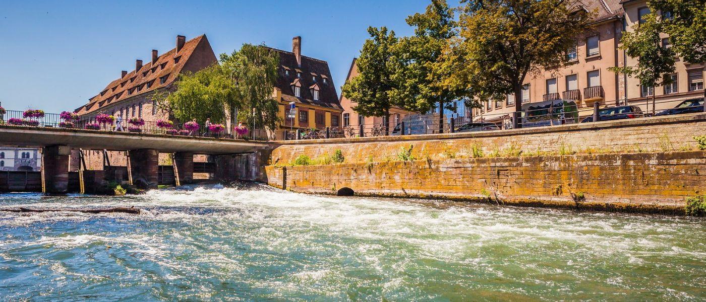 法国斯特拉斯堡(Strasbourg),桥上桥下_图1-27