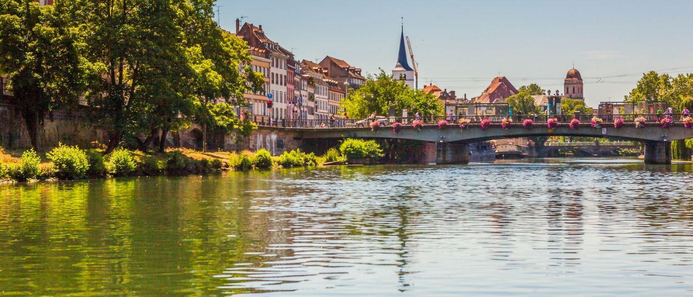 法国斯特拉斯堡(Strasbourg),桥上桥下_图1-28