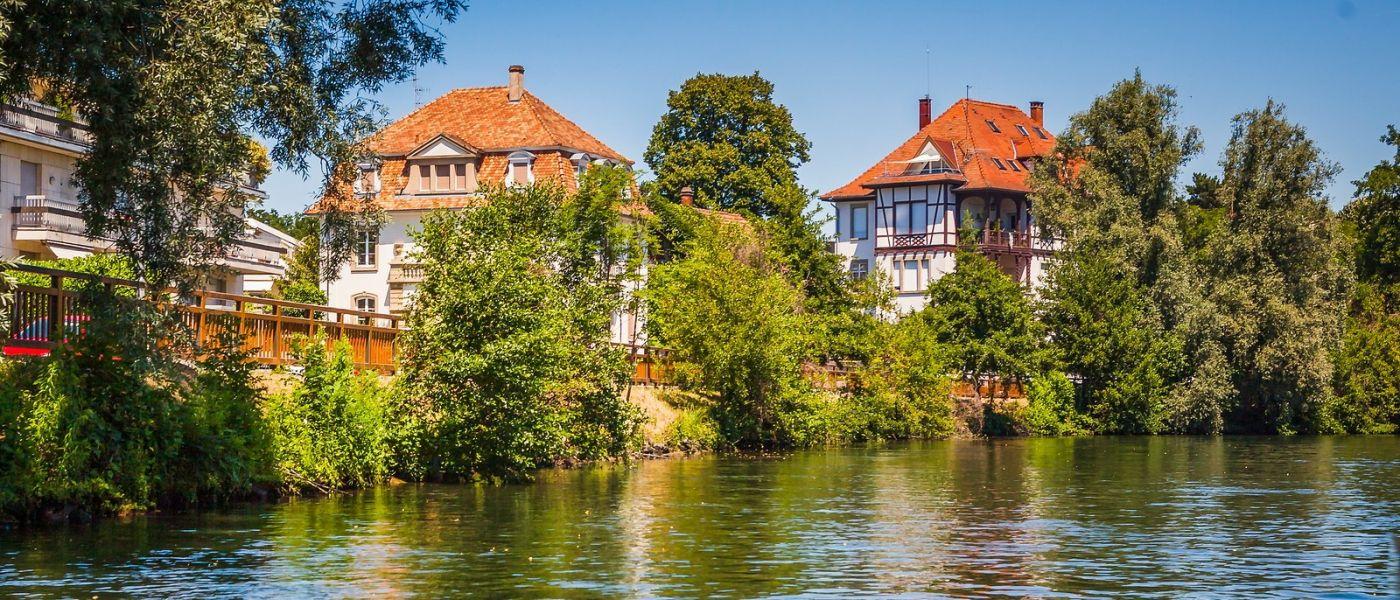 法国斯特拉斯堡(Strasbourg),桥上桥下_图1-31